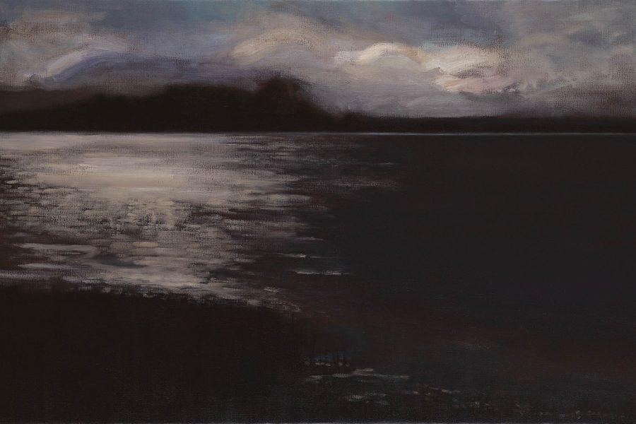 Paul Chizik - Breaking Light. Oil on Linen 40 x 62 inches