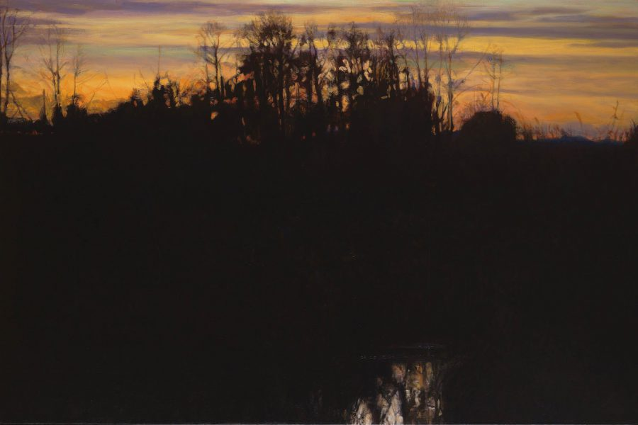 Paul Chizik - Canadian Autumn. Oil on Linen 46 x 69 inches