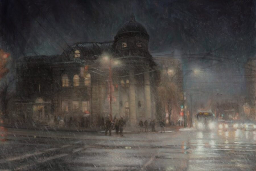 Paul Chizik - Carnegie Hall. Oil on Linen 24.75 x 34 inches