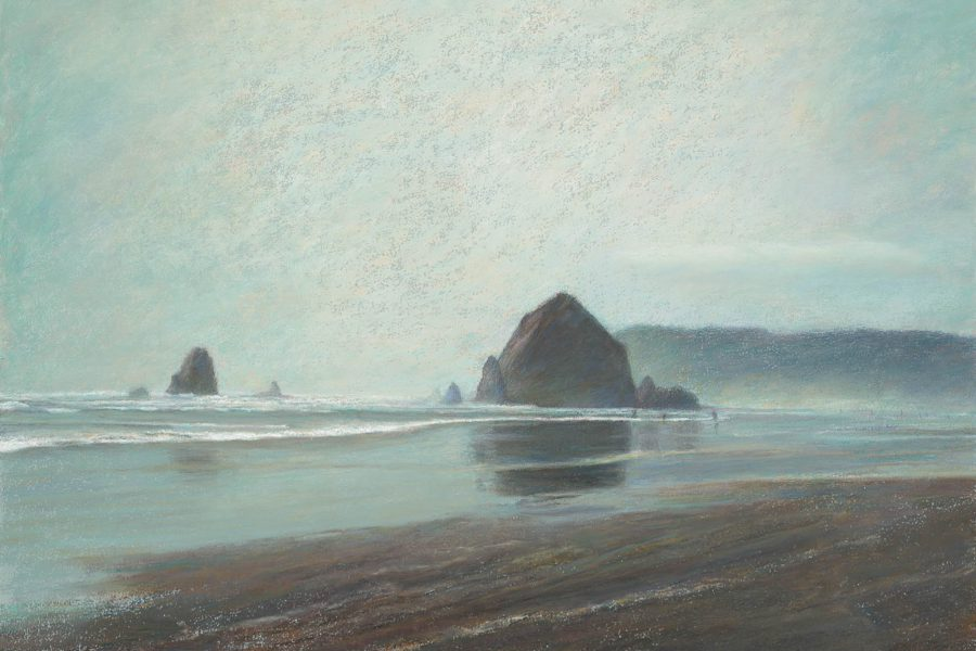 Paul Chizik - Above the Sea, Below an Open Sky. Soft Pastel 19 x 26 inches