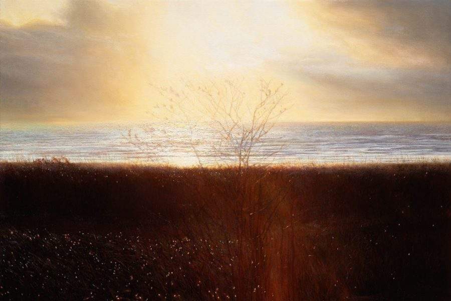 Paul Chizik - An Autumn Day. Oil on Linen 27 x 40 inches