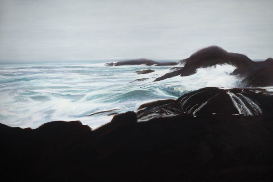 Paul Chizik - Frank Island. Oil on Linen 66 x 100 inches