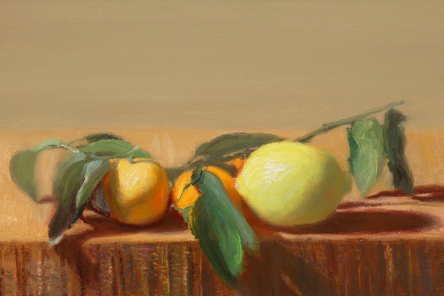 Paul Chizik - Oranges and Lemons Oil on Linen 9 x 14 inches