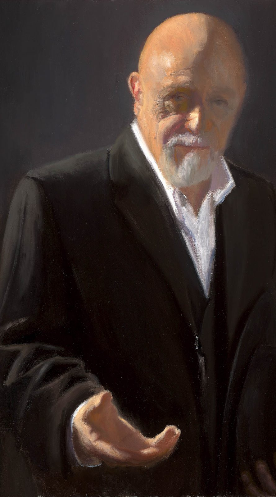 Paul Chizik - Portrait of a Gentleman. Oil on Linen 29 x 19 inches