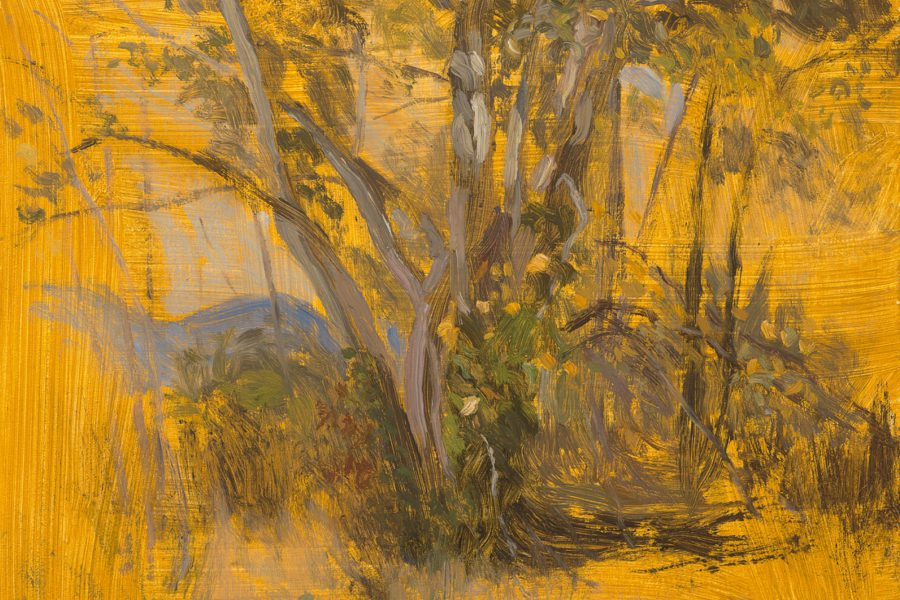 Paul Chizik - Sketch of Summer. Oil on Linen 8 x 10 inches