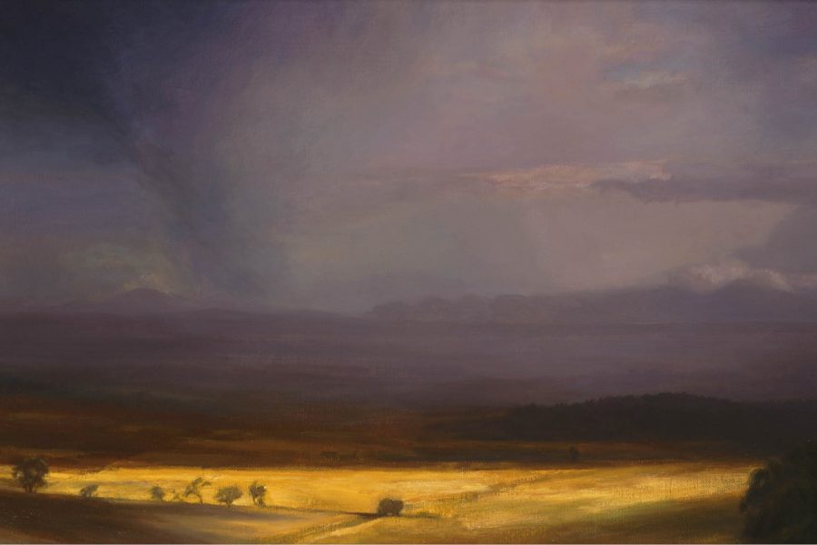 Paul Chizik - Sunburnt Country. Oil on Linen 22 x 32 inches